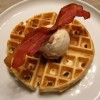 Bacon Waffles and Ice Cream!
