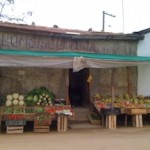 A quaint little vegetable market in Olmué, Chile.