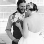 Kat Kraszeski and Justin Jackson wedding on April 16, 2011.