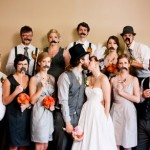 wedding+party+staches