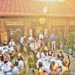 A gorgeous April evening set the perfect scene for Kristi & Brad's reception at The Foundry