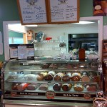 The sandwich counter is also where you place your dessert order for homemade ice cream.