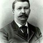 The dignified gentleman, Mr. Joel Chandler Harris
