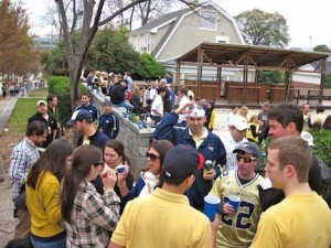 Tailgate Georgia Tech Fraternity