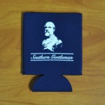 """Our personal favorite coozie """"Robert E. Lee will be there to remind you that a true Southern Gentleman never drinks a warm beer."""""""