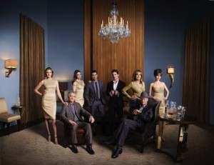 DALLAS GROUP_02_Patrick Duffy Brenda Strong Julie Gonzalo Jesse Metcalfe Josh Henderson Linda Gray Jordana Brewster and Larry Hagman PH Mark Seliger_35342_4093_low.jpg