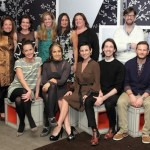 The CFDA {Fashion Incubator} designers with their Atlanta host committee.