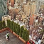 new york city skyline overhead