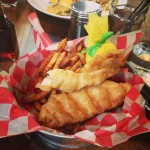 Not in the mood for brunch fare? Opt for Lure's delish fish n' chips