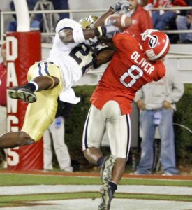 Paul Oliver shutdown Calvin Johnson when UGA beat Georgia Tech in 2006.