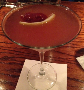 The Pink Kiss Martini is pure perfection.