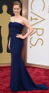Amy Adams is simply divine in a slender Gucci silhouette.