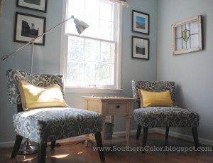 A beautiful sitting area designed by Southern Color.