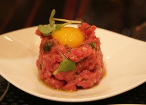 Steak Tartare from BLT Steak