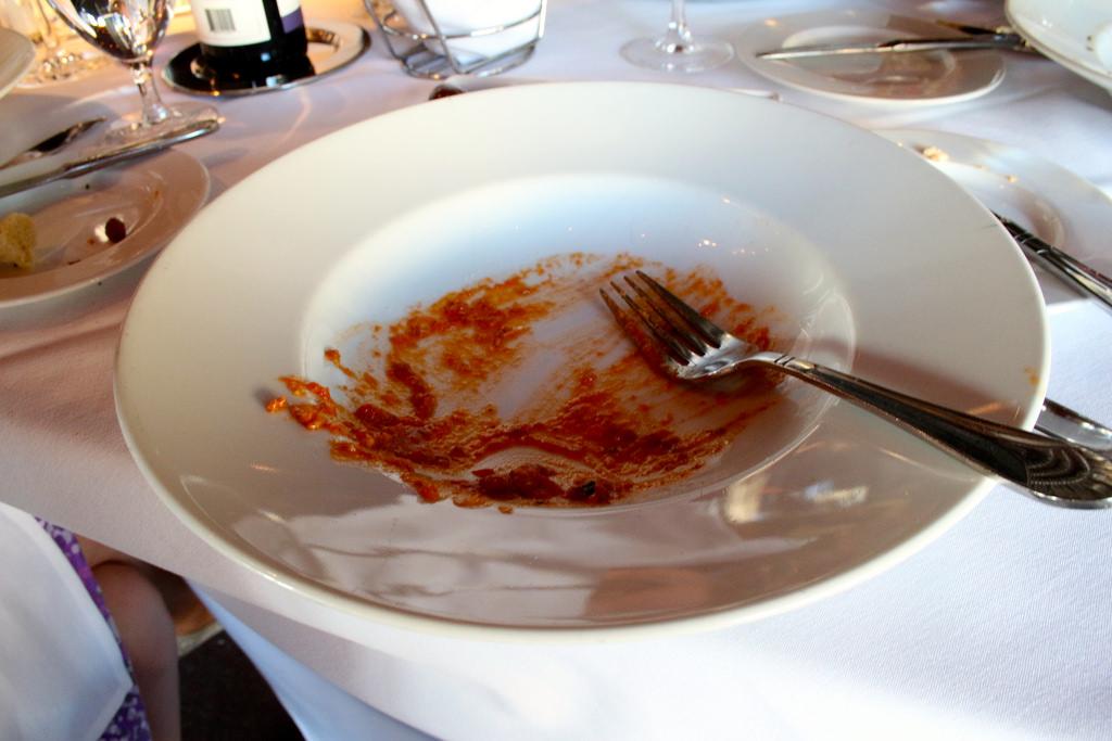 clean plate Davio's
