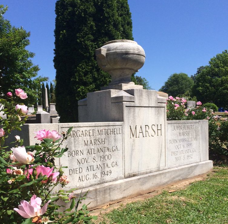 Margaret Mitchell Grave Historic Oakland Cemetery
