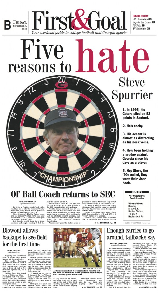 Hate Spurrier