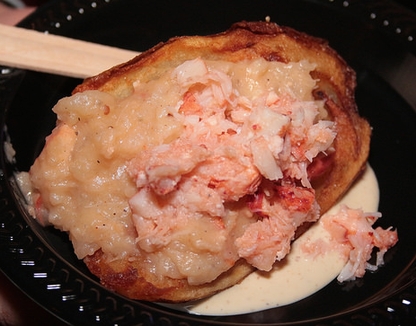 Lobster Baked Potato