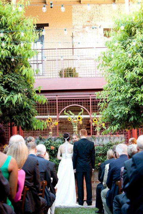 JCT Kitchen Wedding ceremony