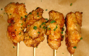 Fried Chicken Lolli pops