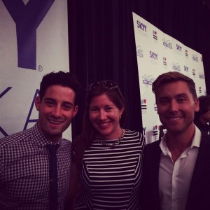 Lance Bass Michael Turchin Toast to Marriage