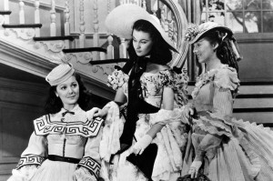 Ann Rutherford Vivien Leigh and Evelyn Keyes