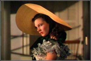 Scarlett O'Hara eyebrow