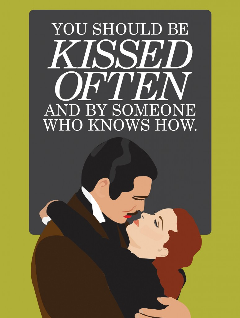 Gone With the Wind Poster #GWTW