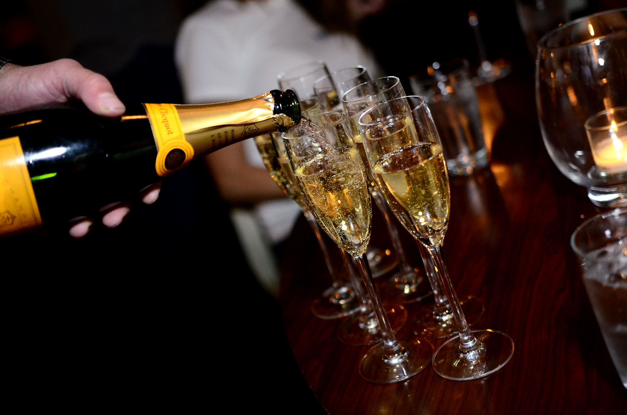 Champagne STK Atlanta