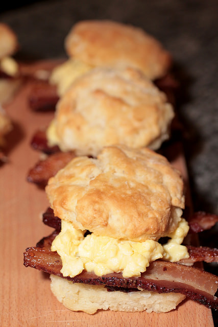 Bacon Egg Cheese Biscuit - Empire State South