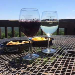 Red & white wines from Stony Mountain Vineyards, Albemarle, NC