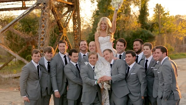 Matt Stafford Wedding Party