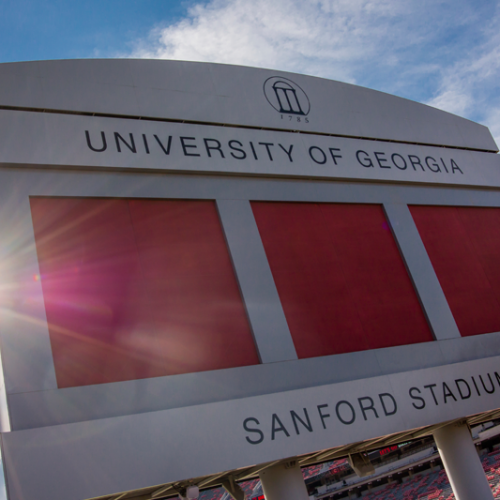 Georgia Football Sanford Stadium #GoDawgs
