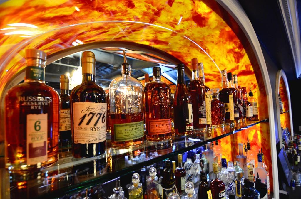 Burn Social Club Bourbon Selection Buckhead Atlanta
