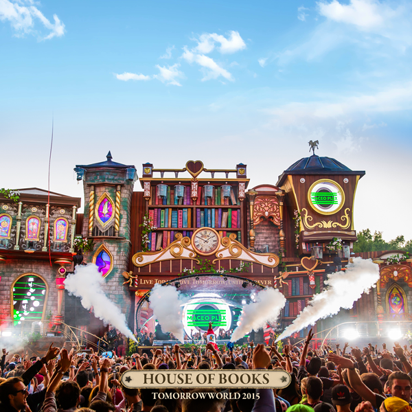 House-of-Books-stage-Tomorrowworld-2015-Atlanta-music-festival