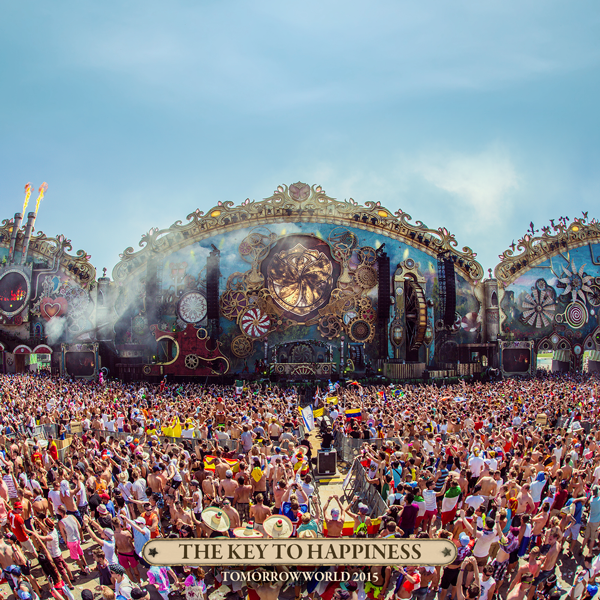 Tomorrowworld Main Stage 2015 Key to Happiness