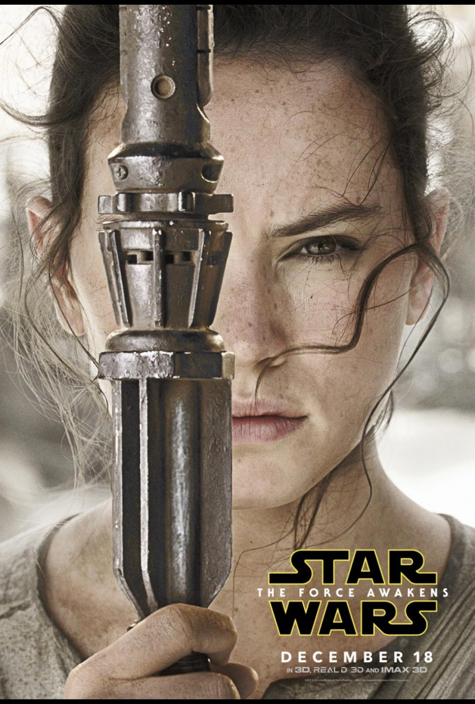Rey Star Wars Episode 7 girl power