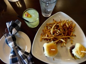 Beast Burger & fries from Beast + Barrel