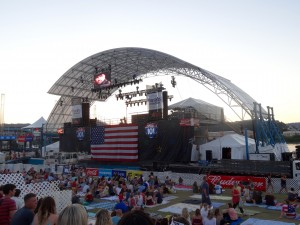 riverbend coca-cola stage
