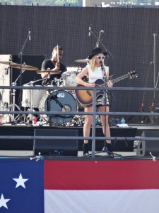 ZZ Ward on the Coca-Cola Stage
