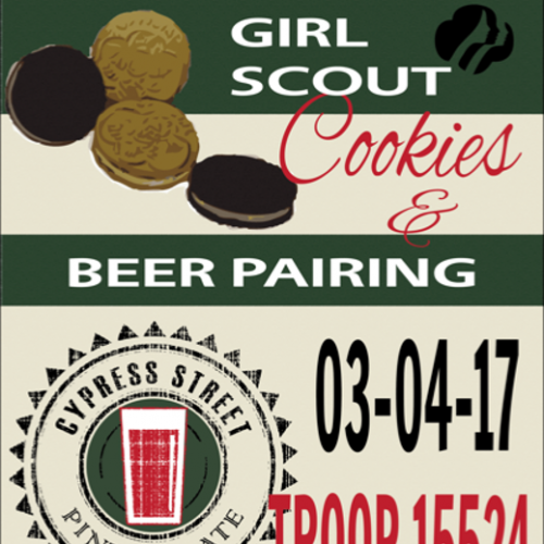 Girl Scout Cookie Beer Pairing