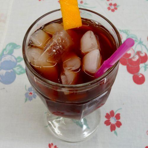 chintzy rose sweet tea