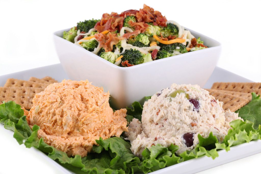 Chicken Salad Chick Sampler