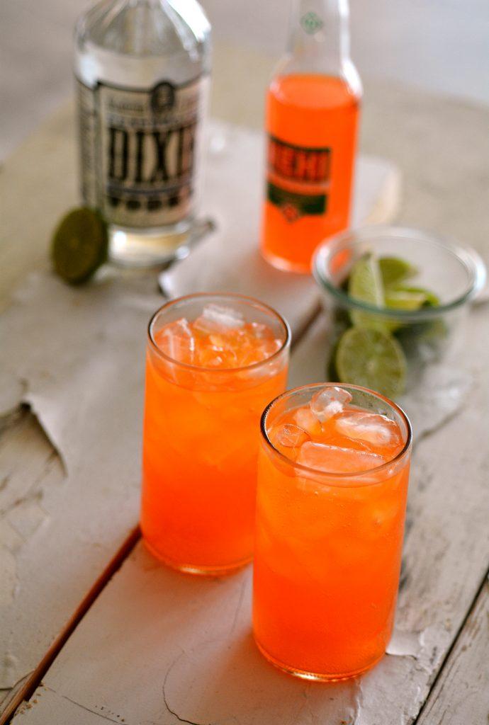 Georgia - Nehi Orange Soda + Dixie Southern Vodka