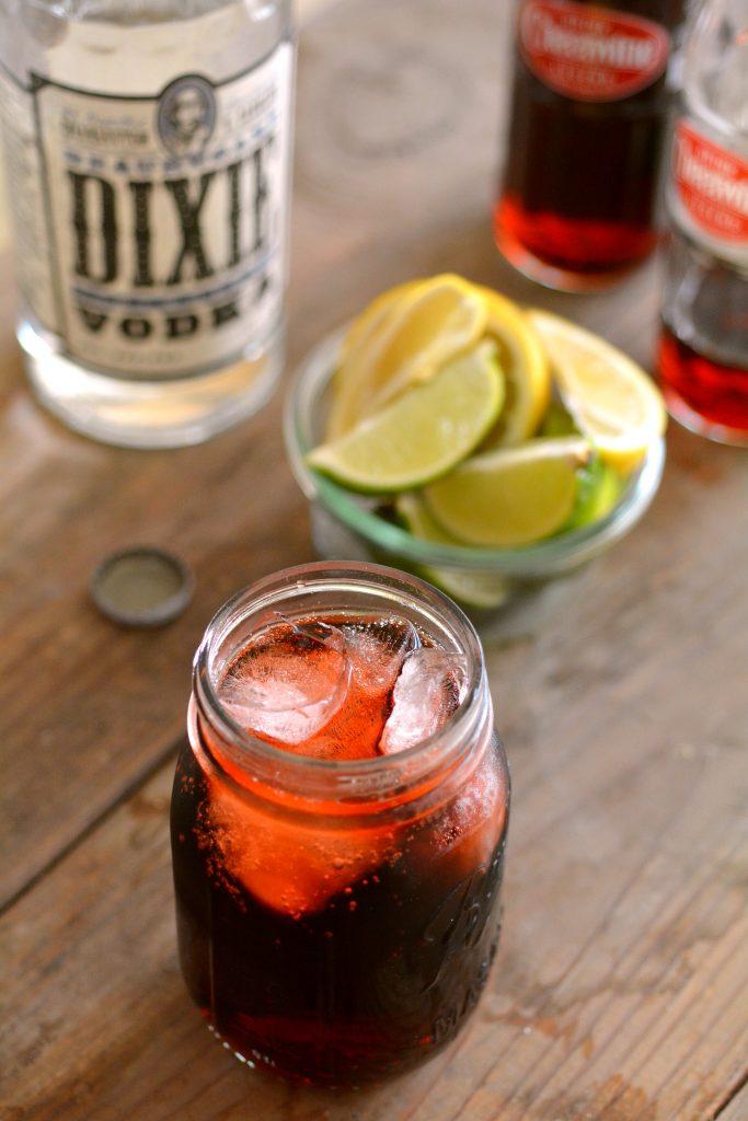 North Carolina - Cheerwine + Dixie Southern Vodka
