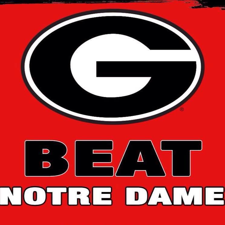 UGA vs. Notre Dame #GoDawgs #UGAvsNotreDame