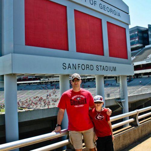 Sanford Stadium UGA Athens Georgia football