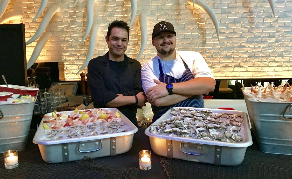STK Atlanta happy hour raw bar