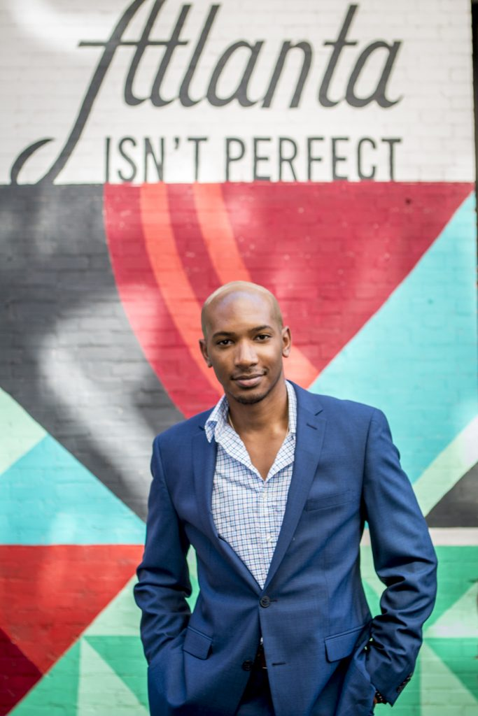 Atlanta Isn't Perfect Sign Downtown Josh Wakefield