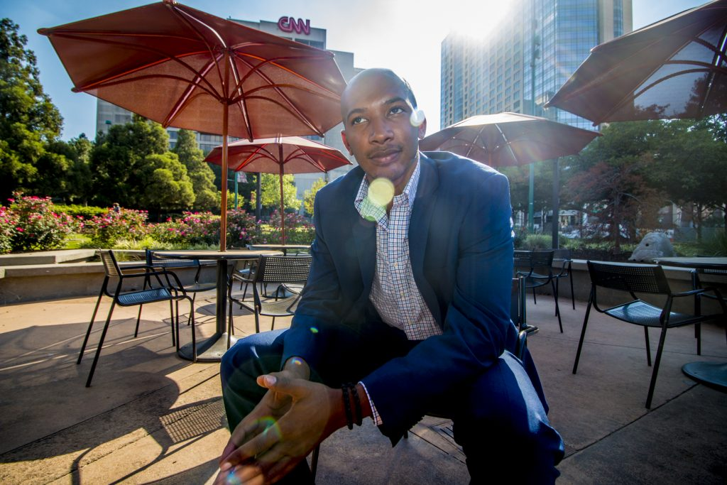 Downtown Atlanta patio Josh Wakefield